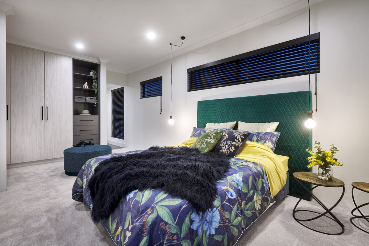The Style House Master Bedroom New Level Homes Award Winning Style