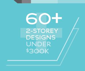 60+ 2 storey home designs under $300k