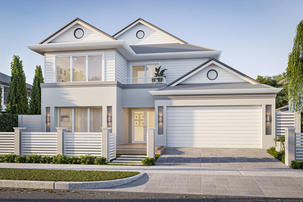New Level Homes two storey builder perth hamptons home designs