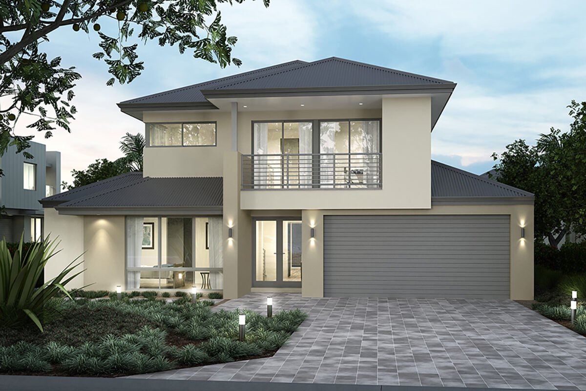 Traditional two storey home perth builder