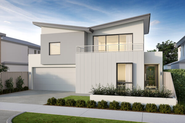 Double storey coastal style home perth builder New Level