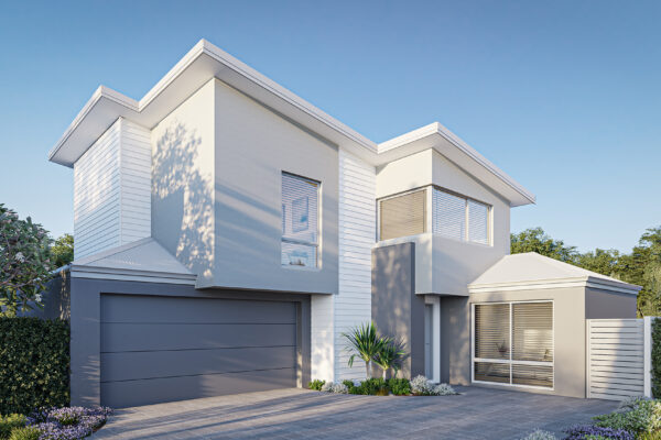 New Level Homes perth builder rear strata home designs