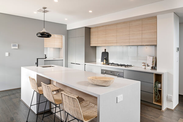 Modern family kitchens perth